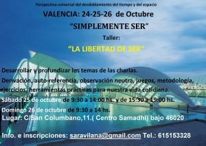 "Taller: ""Simplemente Ser: La libertad de Ser"" @ Valencia   Comunidad Valenciana   España"