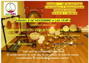 Concierto-Meditación: Armonización Vibracional Energética @ Calle San Columbano num 11 Valencia